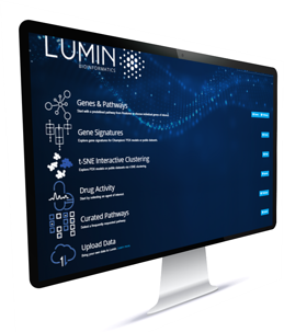 Lumin screen photo