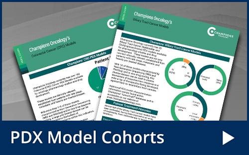PDX Model Cohorts10Aug2021